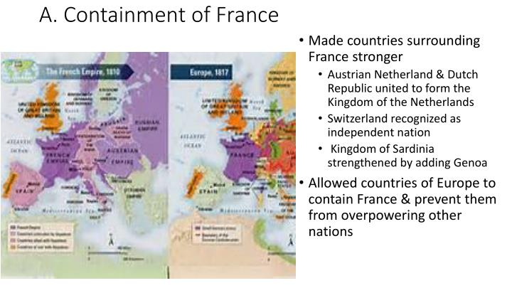 A. Containment of France
