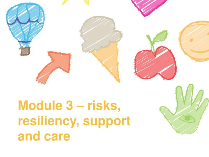 module 3 risks resiliency support and care n.