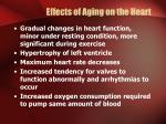 effects of aging on the heart