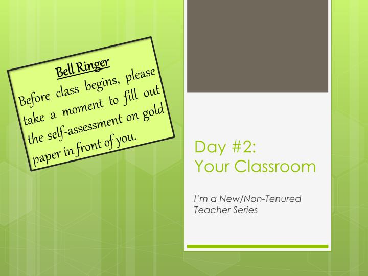day 2 your classroom n.