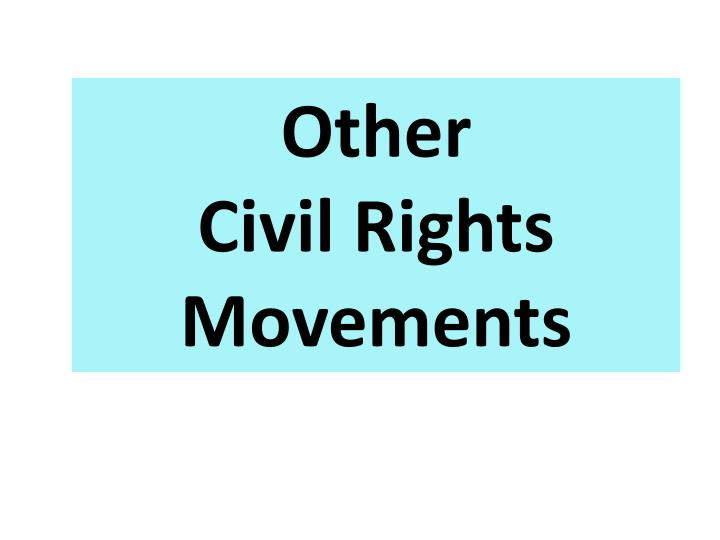 an analysis of the activities of the civil rights movement