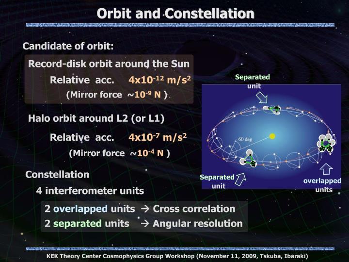 Orbit and Constellation