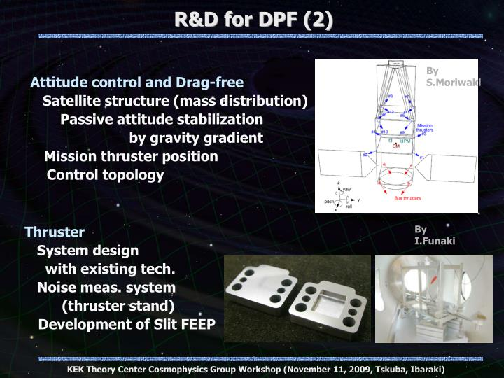 R&D for DPF (2)