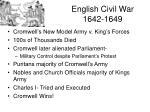 english civil war 1642 1649