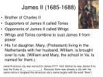 james ii 1685 1688