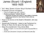 james stuart i england 1603 1625
