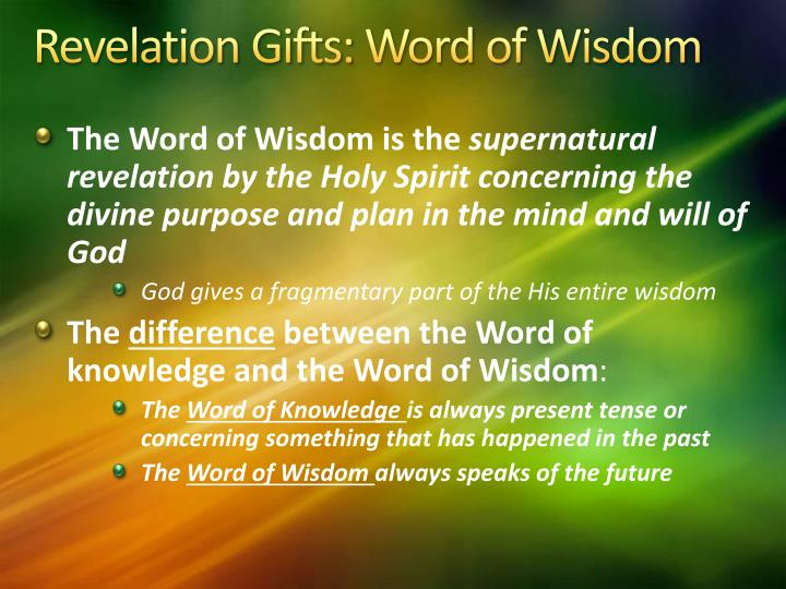 Ppt The Gifts Of The Spirit Powerpoint Presentation Id2136931