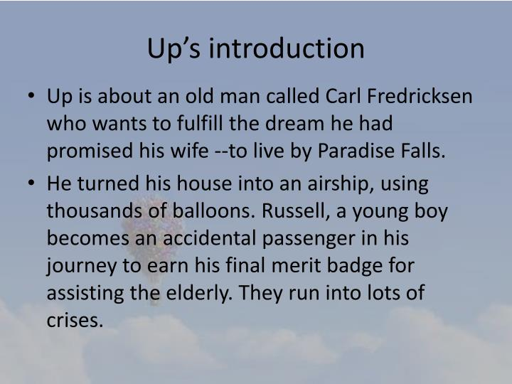 Up's introduction