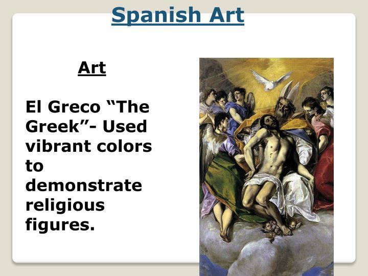 Spanish Art