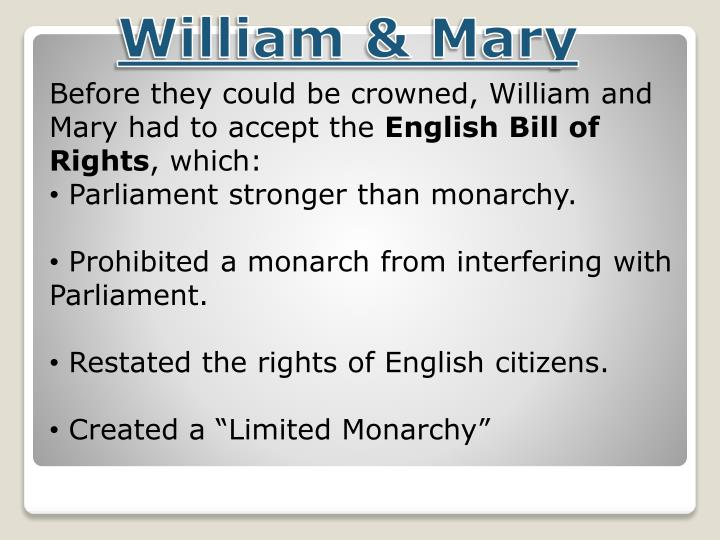 William & Mary