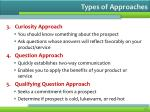 types of approaches1