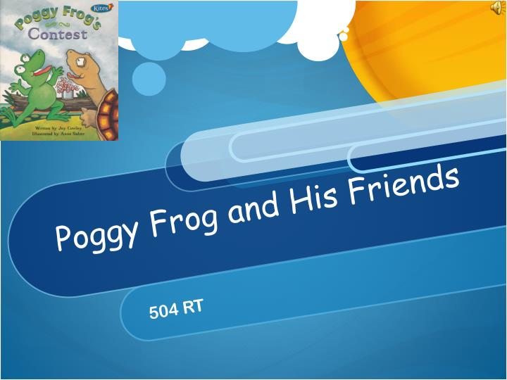 poggy frog and his friends n.