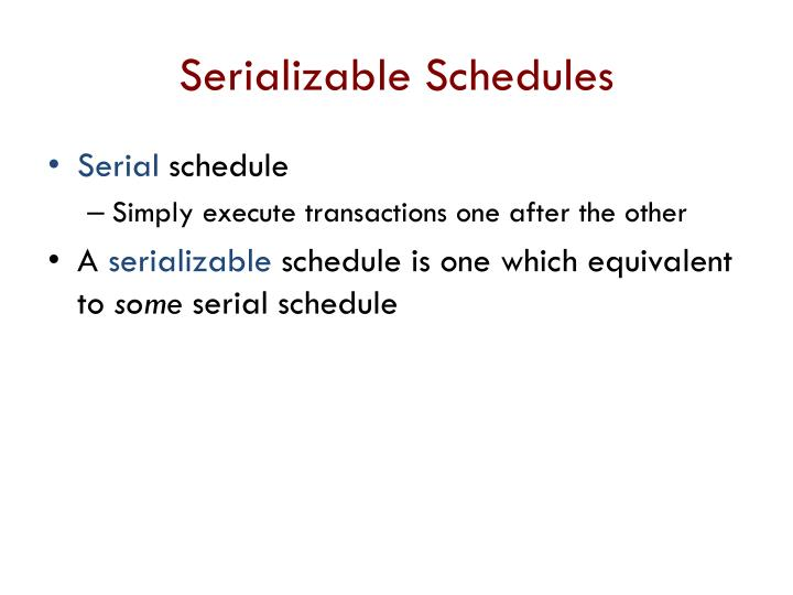 Serializable