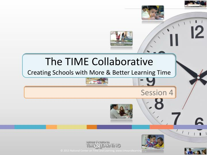 the time collaborative creating schools with more better learning time n.