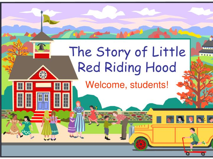 the story of little red riding hood n.