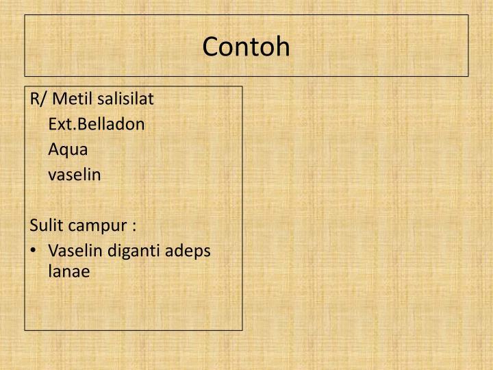 R/ Metil salisilat