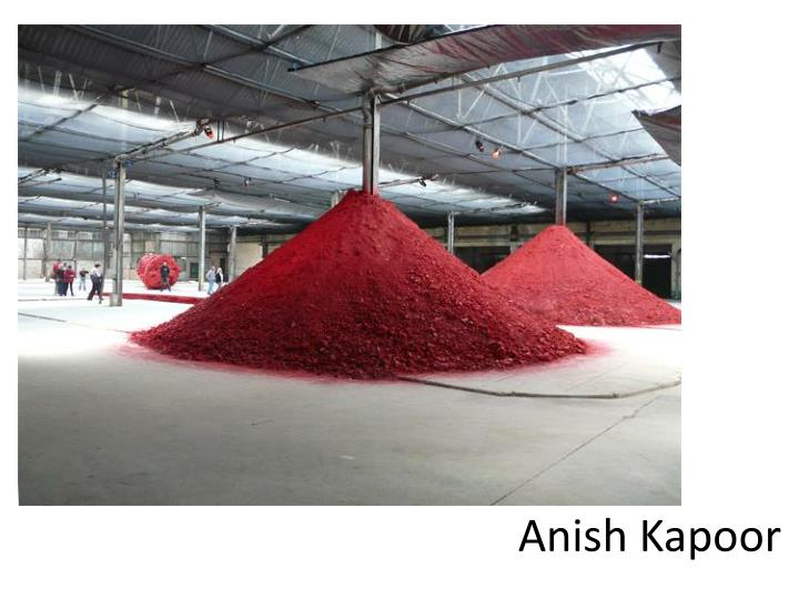 anish kapoor n.