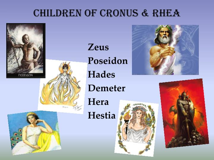Children of cronus rhea