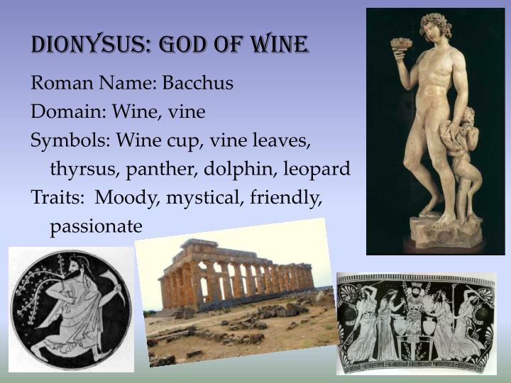 Dionysus: God of Wine