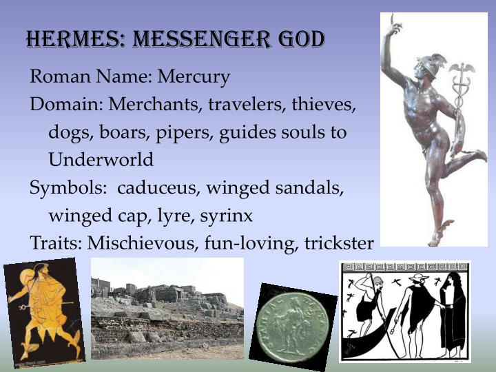 Hermes: Messenger god