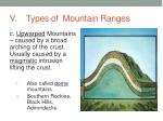 v types of mountain ranges2