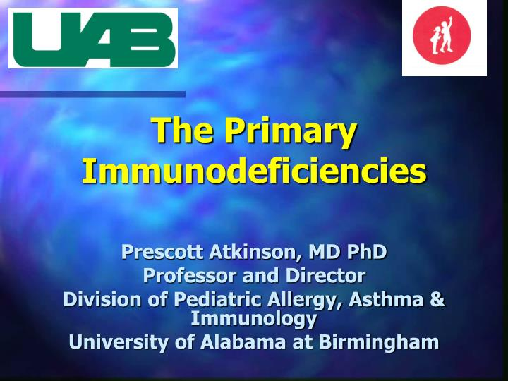 the primary immunodeficiencies n.