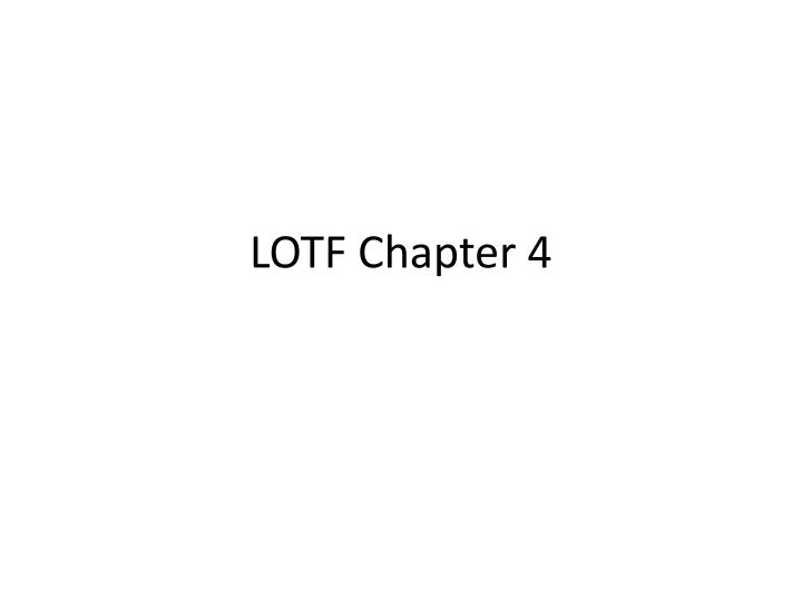 lotf chapter 4 n.
