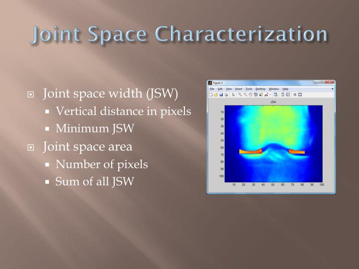 Joint Space Characterization