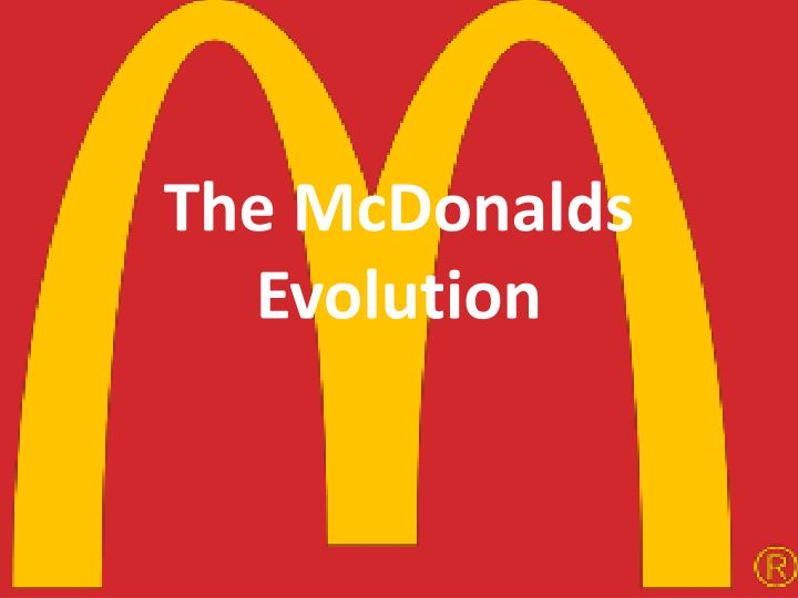 the mcdonalds e volution n.