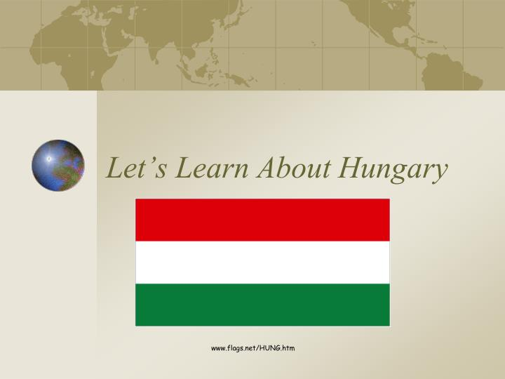 let s learn about hungary n.