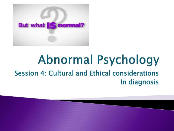 an essay on abnormal psychology History of abnormal psychology essay  history of abnormal psychology many people have heard of psychology before - history of abnormal psychology essay introduction it is simply a scientific study of behavior and mental processes.
