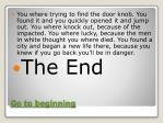 go to beginning