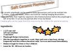 salt ceramic playdough recipe
