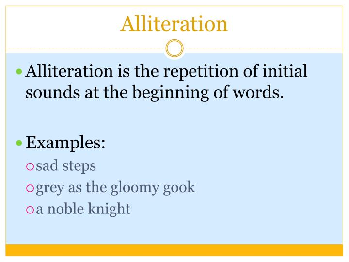 Ppt Figurative Language And Poetry Terms Powerpoint Presentation