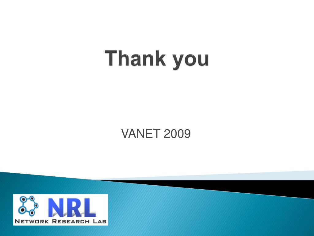 Vanet Project Github