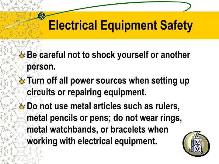 Electrical Equipment Safety