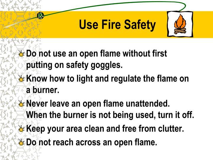 Use Fire Safety