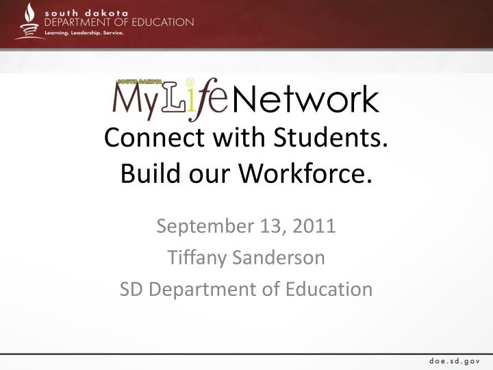 connect with students build our workforce n.