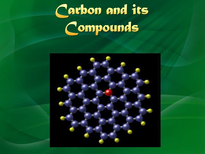 carbon and its compounds n.