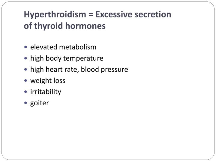 Hyperthroidism