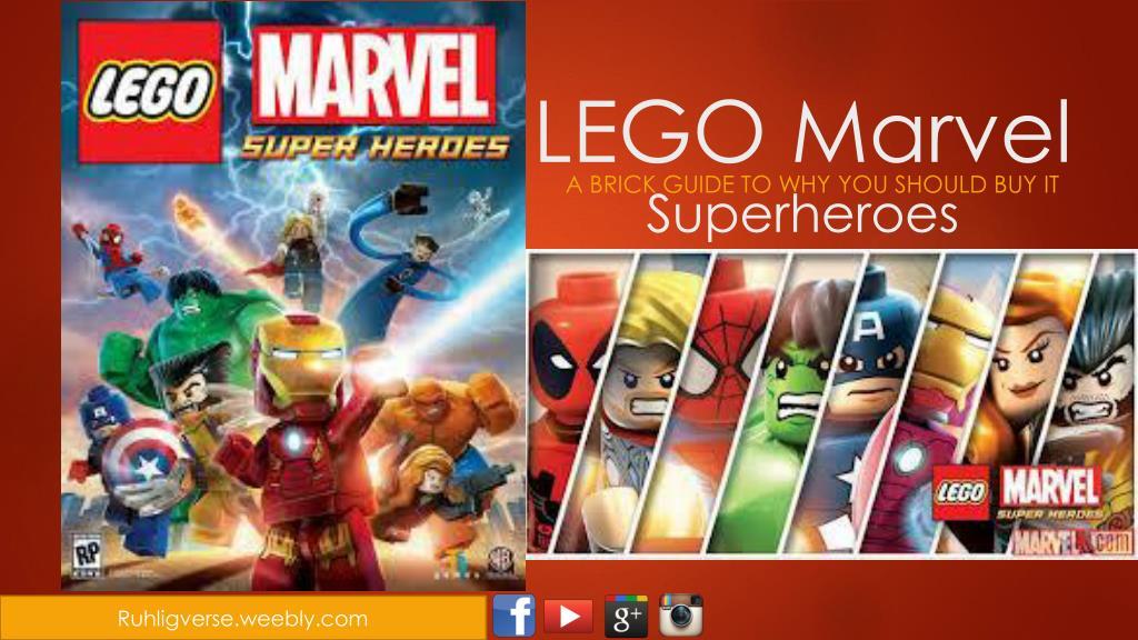 ppt lego marvel superheroes powerpoint presentation id 2141341