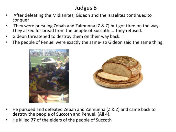 Judges 8