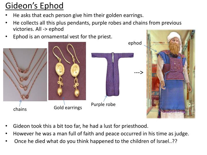 Gideon's Ephod
