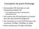 conception de point d change2