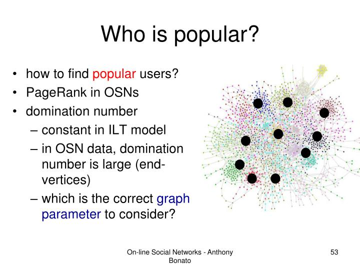 Who is popular?