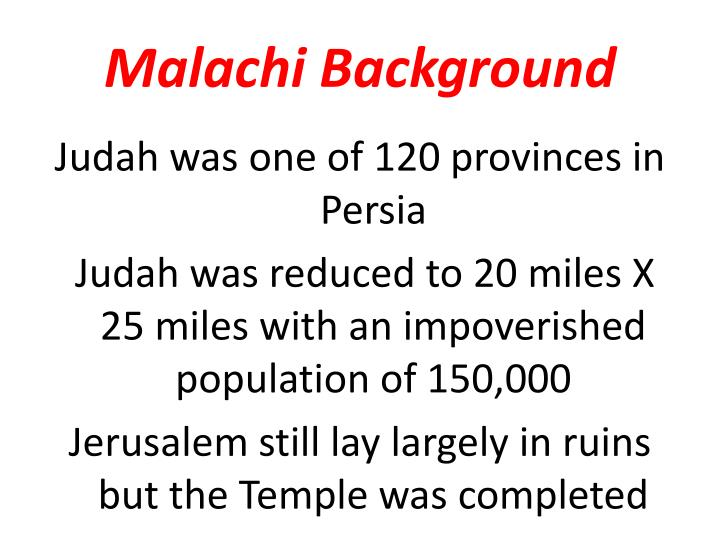 Malachi background1