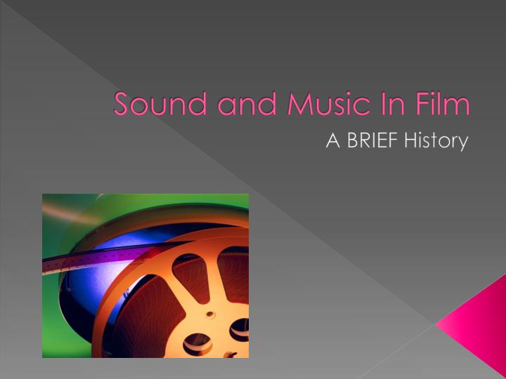 sound and music in film n.