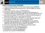 ifas drs transmittal processing