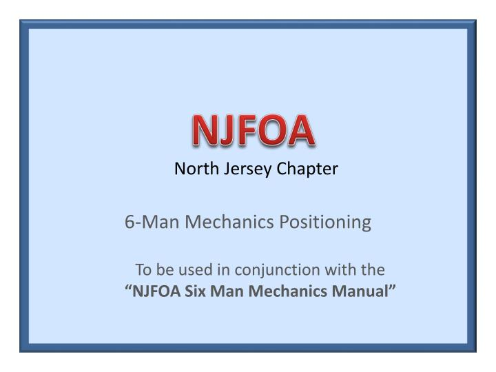 north jersey chapter n.