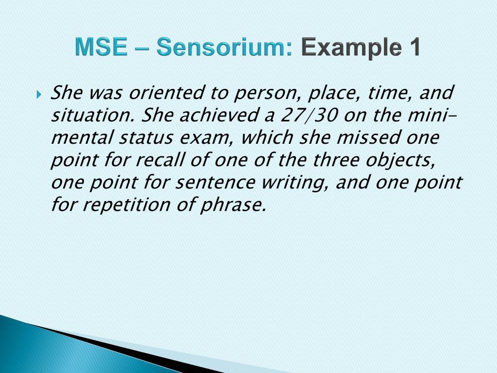 photograph regarding Mini Mental Status Exam Printable titled A Total Psychological Name Evaluation Illustration